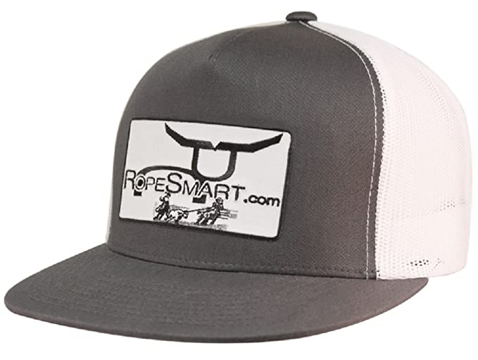 12f147f9080 Ropesmart Mens and White Trucker Cap OS Charcoal at Amazon Men s ...