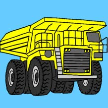 Vehicles Coloring Pages Free