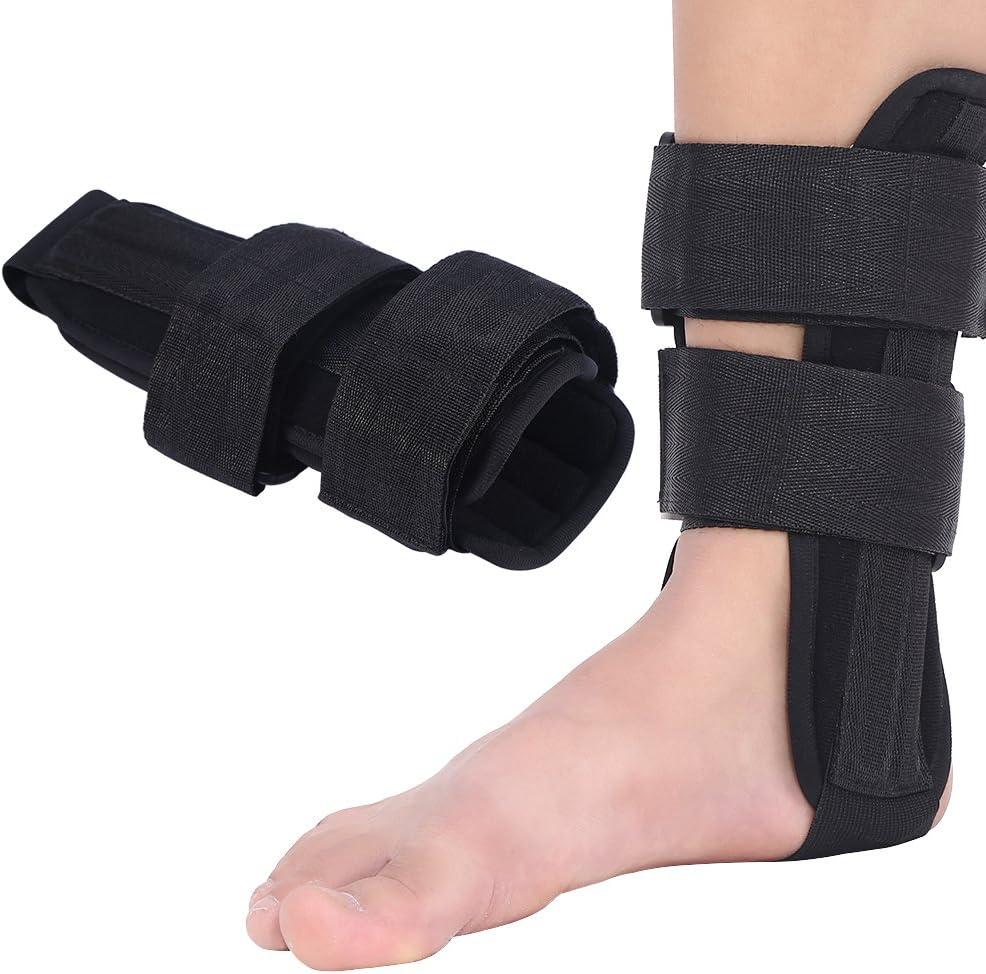 Tobillera Soporte de Tobillo Apoyo ortopédico Estabilizador del pie Ortesis Protector de Tobillo Lesión del esguince Férula Protectora(M)