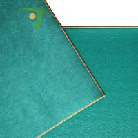Aurorae Synergy 2 in 1 Yoga Mat; with Integrated Non Slip Microfiber Towel. Best for Hot, Ashtanga, Bikram and Active Yoga Where You Sweat and Slip; Stops Slipping and Bunching; Patent Protected