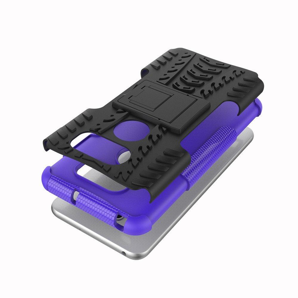 LG V30 Case LG V30 Plus Case LG V30S Phone Case ISADENSER Hyun Duty [Shockproof] Tough Armor Box Dual Layer Hybrid Hard PC and Soft TPU Protective ...
