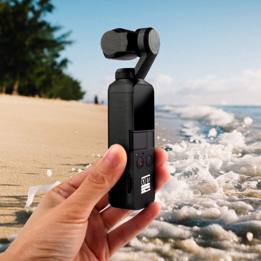 LIPOVOLTProtective Film Sticker Skin PVC for DJI OSMO Pocket Handheld Gimbal Camera Black
