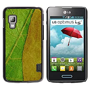 TopCaseStore / la caja del caucho duro de la cubierta de protección de la piel - Plant Nature Forrest Flower 42 - LG Optimus L5 II Dual E455 E460
