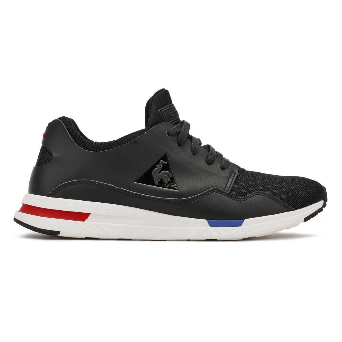 6c20389780a7 Le Coq Sportif Mens Black LCS R Pure Trainers-UK 7  Amazon.co.uk  Shoes    Bags