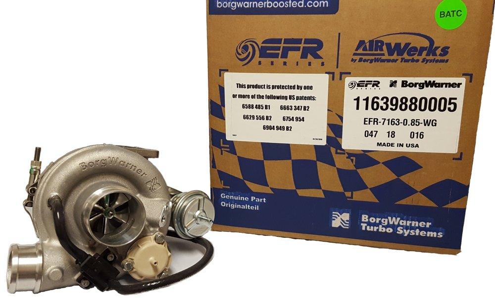 Amazon.com: BorgWarner 11639880005 Turbocharger (EFR B1 7163F 0.85 a/r VOF WG): Automotive