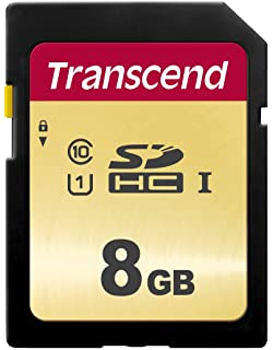 Transcend TS8GSDHC10 - Tarjeta de Memoria de 8 GB (Clase 10 ...