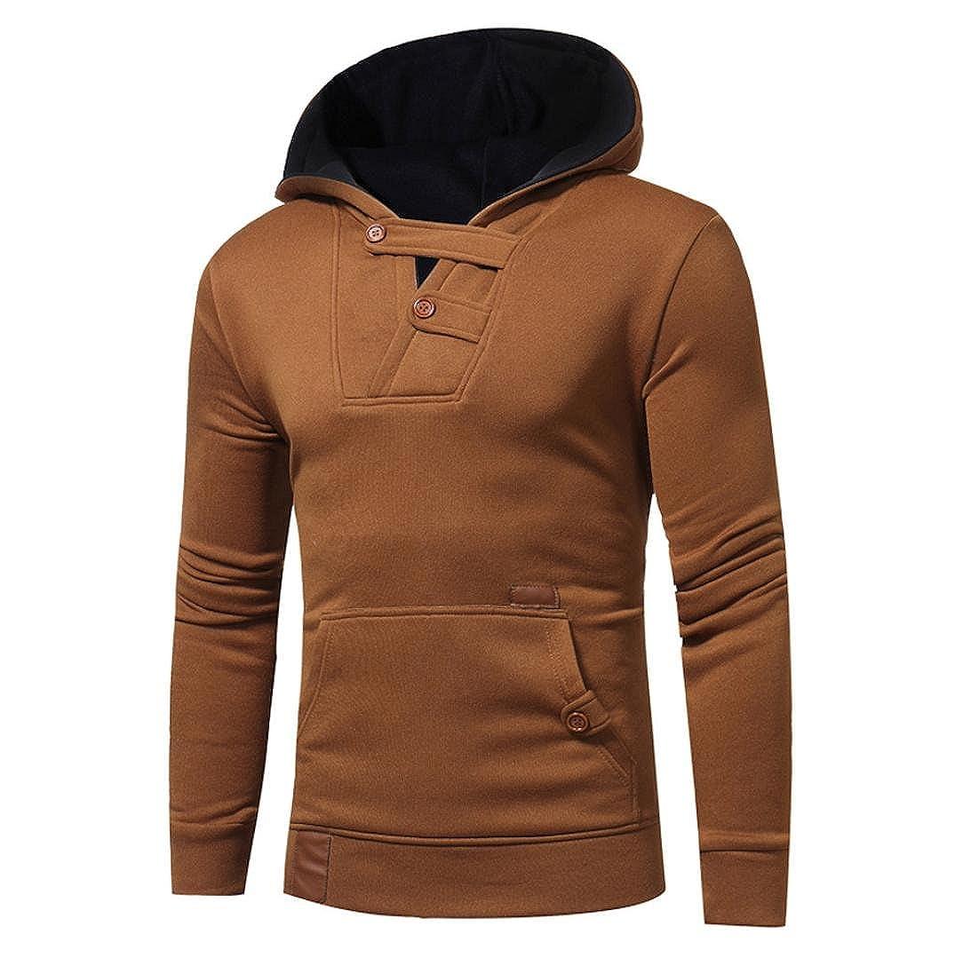 Männer Kapuzenpullover CLOOM Pullover Hemd Kapuzenpulli Sonnenschein Junge Tops Gentleman Sweatshirt Schick Übergang Jacke Jung Einzigartig Mantel Vitalität Männer Sport Outwear