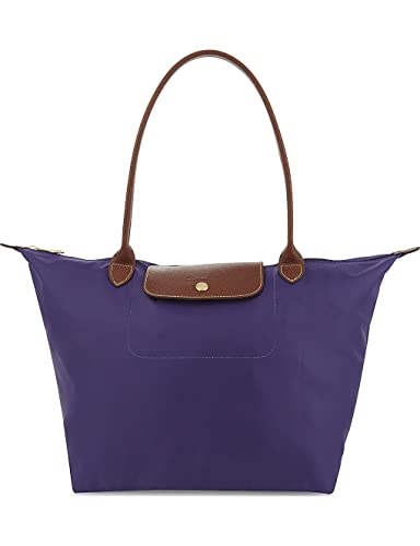 LONGCHAMP Le Pliage small nylon shoulder bag (Amethyst)