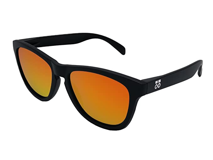 Gafas de Sol Polarizadas Hombre y Mujer Sport - Lentes Rojo espejo 1.1 mm - Diseño