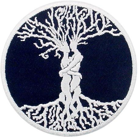 Parche termoadhesivo para la ropa, diseño de El árbol de la vida Amor celta para siempre: Amazon.es: Hogar