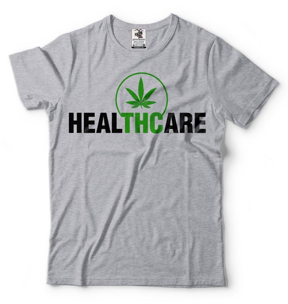 Silk Road Tees THC T-Shirt Healthcare Weed Cannabis Cool Marijuana Tee Shirt