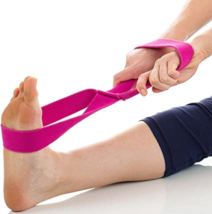 Amazon.com : ZSZBACE Yoga Strap - Organic Yoga Belt Made ...