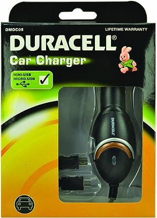 Duracell - Cargador de Coche para Smartphone con Mini y Micro USB: Amazon.es: Electrónica