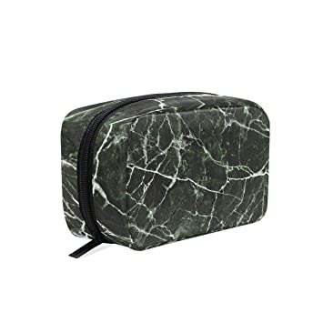 efabcb2ed823 Amazon.com : YZGO Green Marble Stone Cosmetic Pouch Waterproof ...