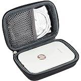 Hermitshell Hard EVA Travel Case for HP Sprocket Portable Photo Printer by (Black)