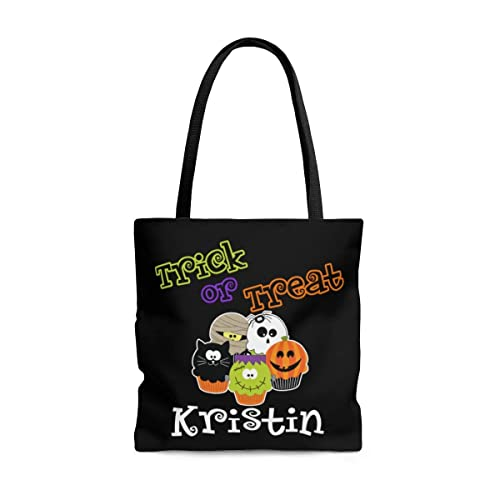 Trick or Treat Personalized Trick or Treat Tote Bag