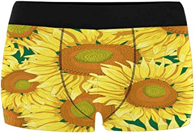 INTERESTPRINT Mens Boxer Briefs Soft Underwear XS-4XL