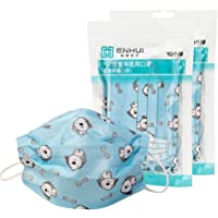 Disposable Kid's Face Mask for Health Protection in a Zipper Bag, A Pack Disposable 3 layer Non-woven Anti-Particle Anti…