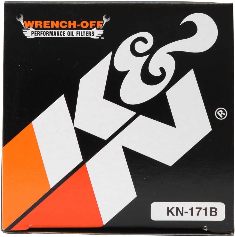 Designed to be used with Synthetic or Conventional Oils: Fits Select Harely Davidson Premium KN-171C K/&N Motorcycle Oil Filter: High Performance Buell Motorcycles