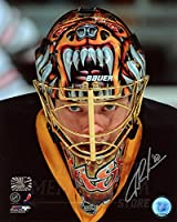 Tuukka Rask Boston Bruins Signed Autographed Up Close Mask 8x10 PF