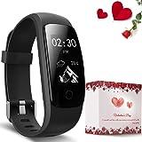 moreFit Fitness Tracker, Slim Touch HR Heart Rate Waterproof Activity Tracker Wireless Smart Bracelet Pedometer Watch with Sleep Monitor