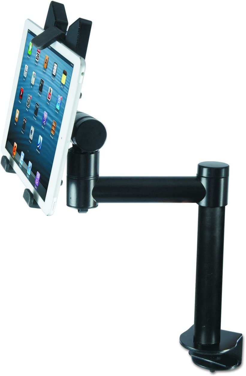 Kantek Desk Mount Tablet Stand for 7 to 10-Inch Tablets, Fits Apple iPad, Samsung Galaxy Tab, MS Surface, and Kindle Fire (TS920)