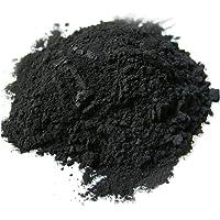 Polvo de carbón activado - 25 gr: uso en máscaras, envolturas corporales, exfoliantes, formulaciones exfoliantes, colorantes para jabones, formulaciones de maquillaje como máscara de pestañas.