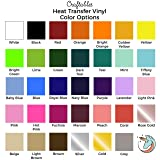 """(5) 12"""" x 9.8"""" Sheets of Craftables Purple Heat"""