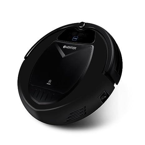EVENTER Robot Aspirador y Limpiador Automático con Alta Succión y Autocarga, Sensores de Alta Tecnología