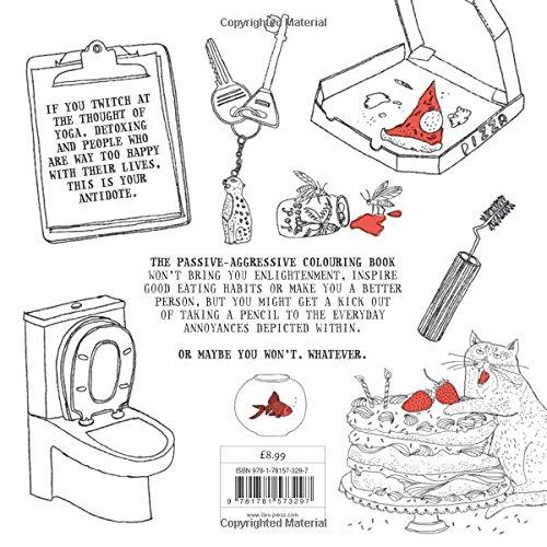 The Passive Aggressive Colouring Book Charlotte Farmer 9781781573297 Amazon Books