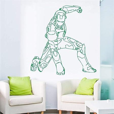 Tatuajes de pared Kids Room Decor Wall Art Marvel Art regalo ...