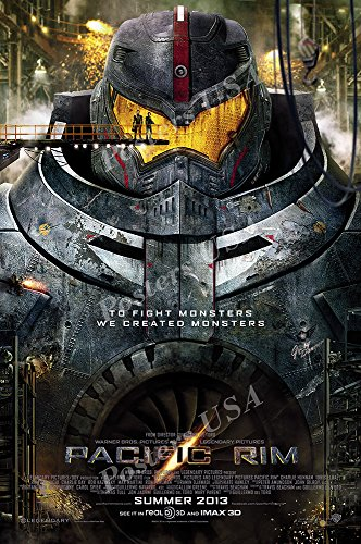Posters USA Pacific Rim 2 Uprising Movie Poster GLOSSY FINISH - FIL767 (24