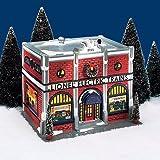 Department 56 2202 Snow Village ''Lionel Electric Train Shop''