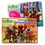 Sesame Street Elmo and Friends Baby Toddler Pop-up Board Books