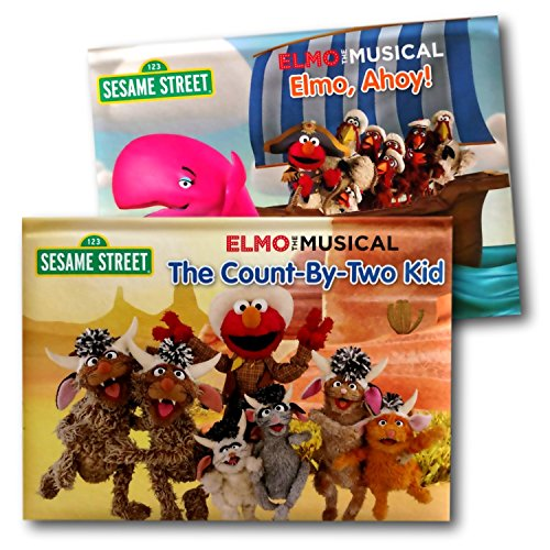 Sesame Street Elmo and Friends Baby Toddler Pop-up Board Books (Elmo Girl Party Supplies)
