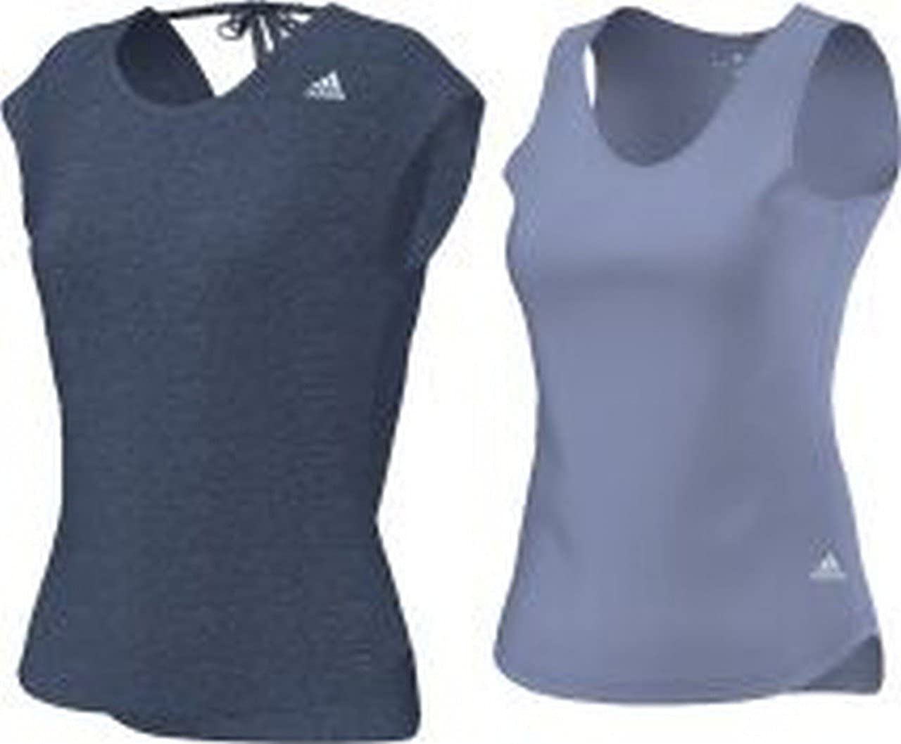 adidas Damen Kurzarmshirt Kanoi layer Zweischicht