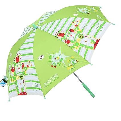 QI FANG BUSINE Paraguas Plegables Sombrilla Sombrilla para niños Sombrilla para niños Sombrilla para niños Seguridad
