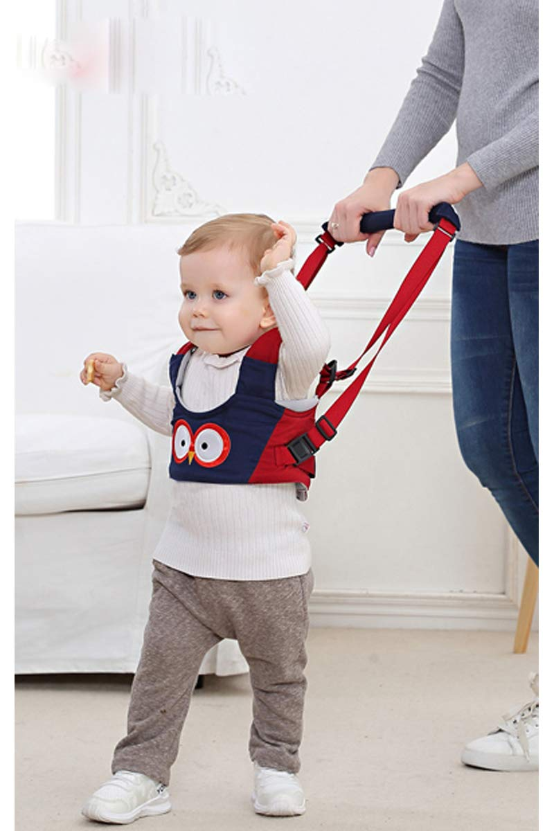 Baby Walking Harness Adjustable Baby Walker Assistant Protective Belt for Kids Infant Toddlers Green