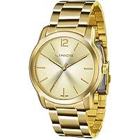 Relógio Lince Feminino Ref: Lrg4447l C2kx Casual Dourado