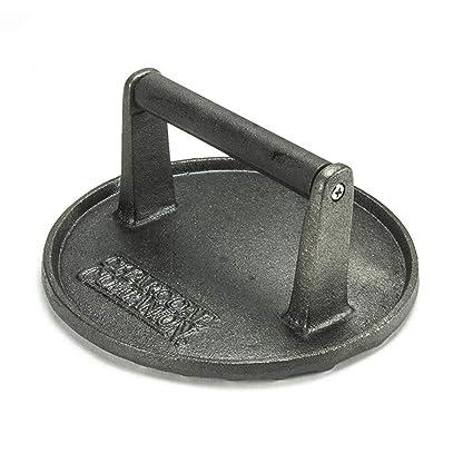 944db788f7b1 Amazon.com  Charcoal Companion CC5023 Cast Iron 7-Inch Diameter Grill  Press