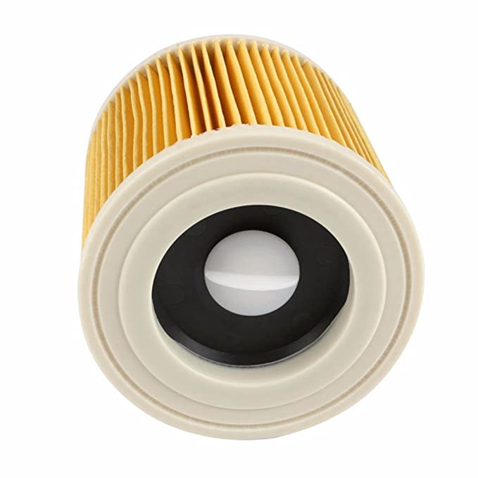 SODIAL Reemplazo Bolsas De Filtros De Polvo De Aire para Karcher Piezas De Aspiradoras Filtro Hepa De Cartucho Wd2250 Wd3.200 Mv2 Mv3 Wd3
