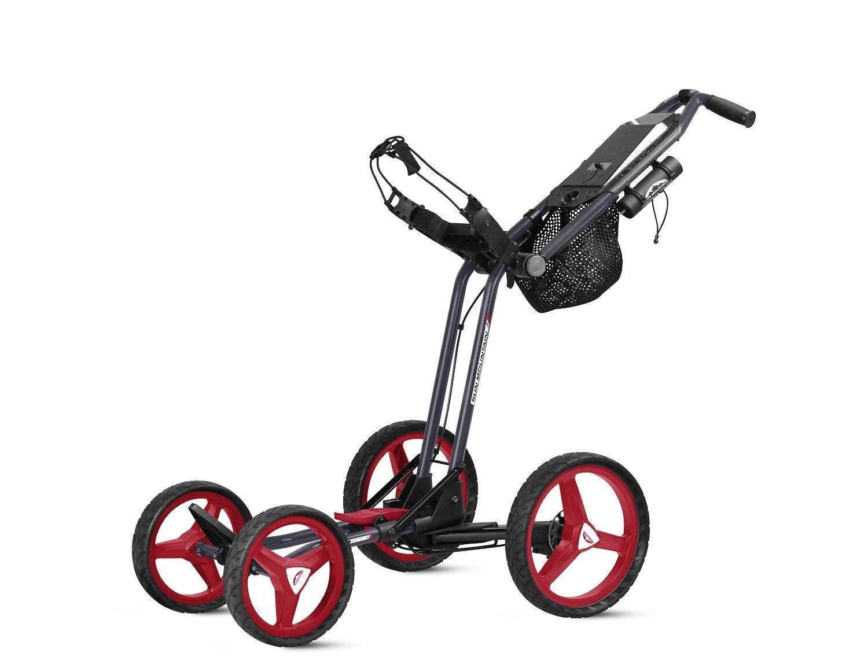 Sun Mountainゴルフmicro-cart GTプッシュカート  ネイビー/ホワイト/レッド B071NM7T7G