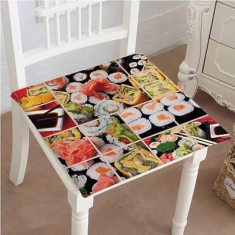 Amazon.com: Cojín para silla de comedor, diseño de esqueleto ...