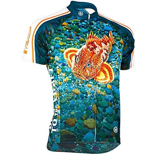 Canari Men's Ballast Point Sculpin Cycling/Biking Jersey