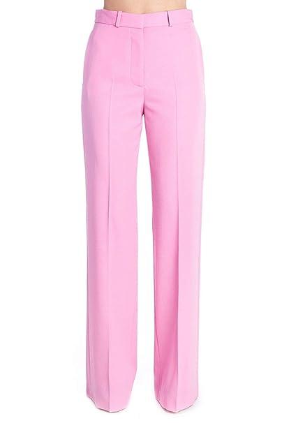 df65e71ccf Stella McCartney Mujer 551644SMB125860 Rosa Lana Pantalón  Amazon.es  Ropa  y accesorios
