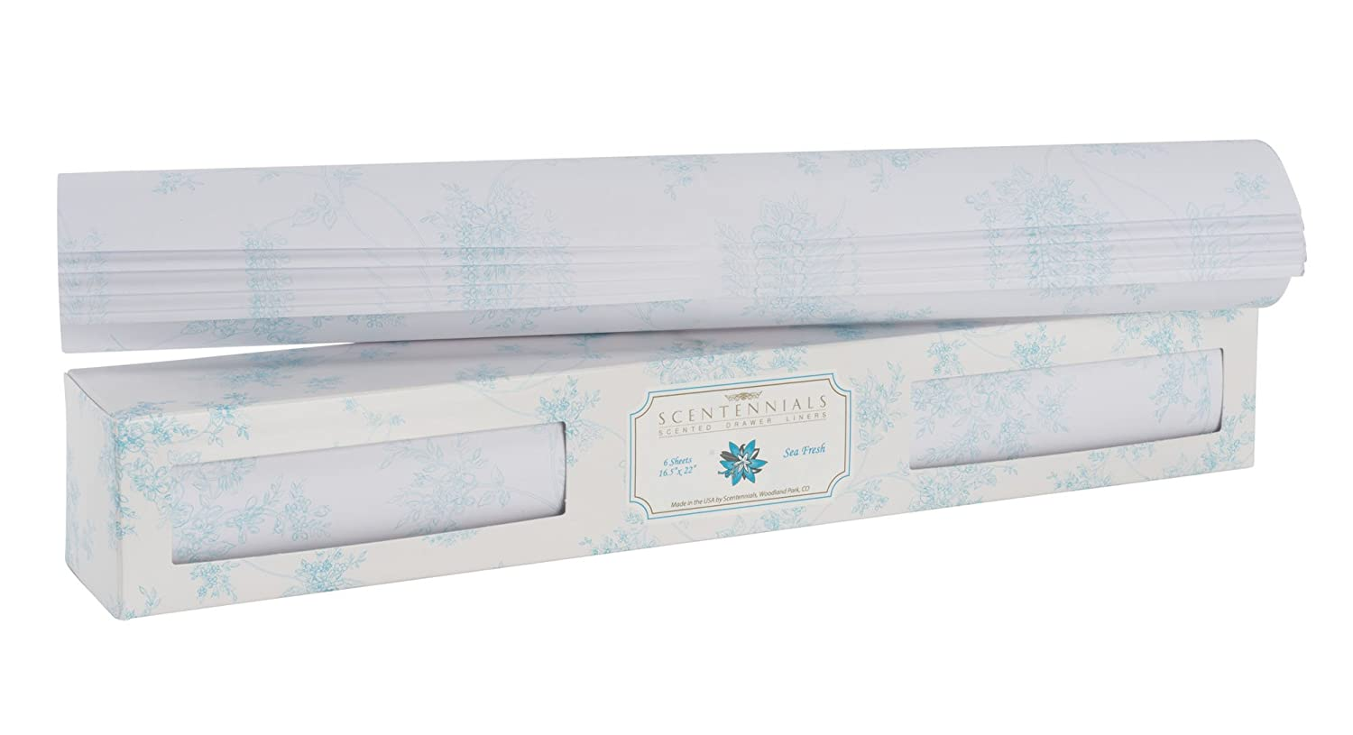 Original Series Scented Drawer Liners From Scentennials (Sea Fresh) Scentennials Products
