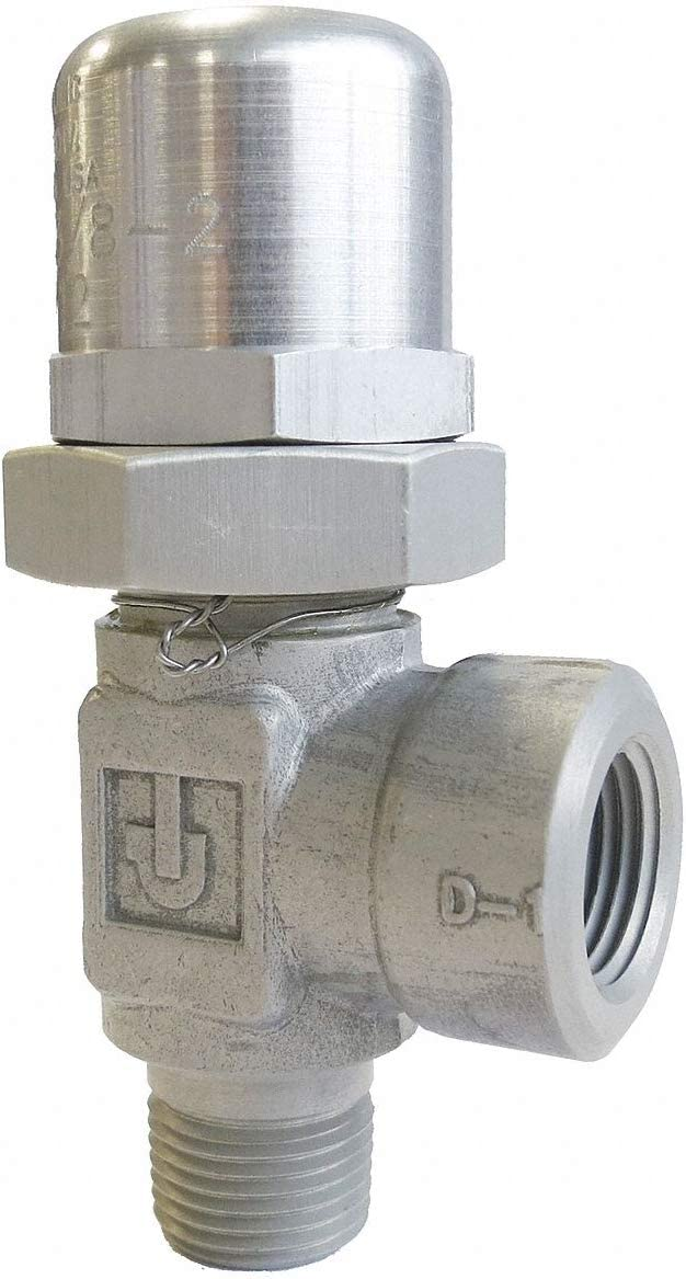 PARKER Pressure Control Valve 1//4 NPT 2000 to 3100 psi 4.0 gpm Stainless Steel