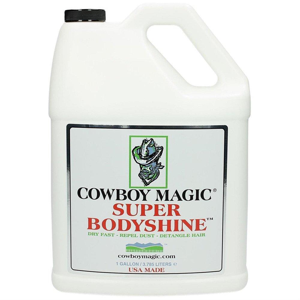 Cowboy Magic 1 Gallon of Super Bodyshine. Dries Fast. Repels Dust. Detangle Hair