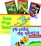 Buzz, hop, and flutter through the engaging Spanish-translated books in this collection filled with fictional stories and informational text about life cycles. This 6-book collection combines stories from Fiction Readers and informational tex...