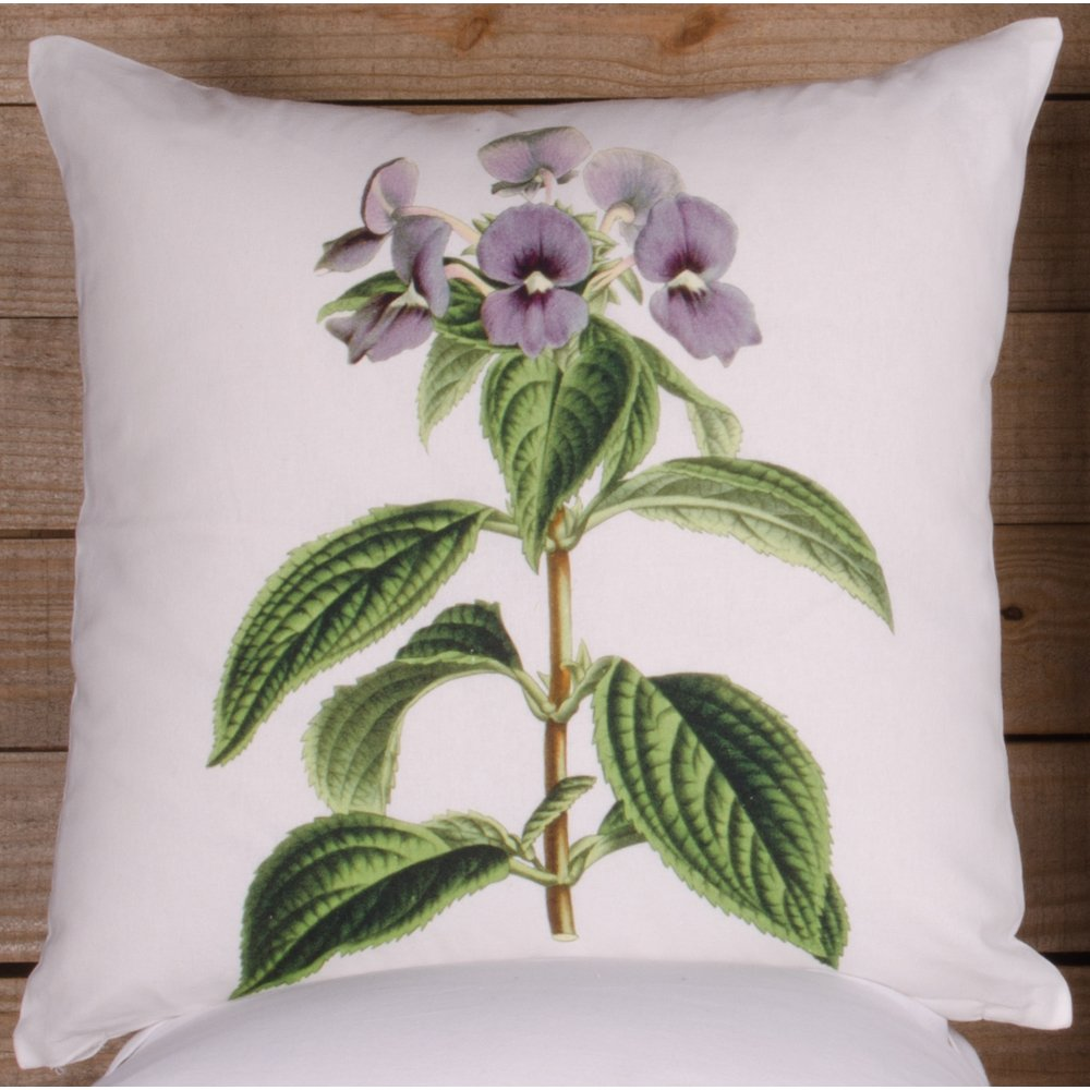 Home Collections by Raghu 16x16 Violet White Pillow